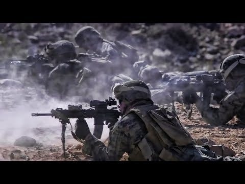 U.S. Marines Live-Fire Fun At Range 410A Twentynine Palms