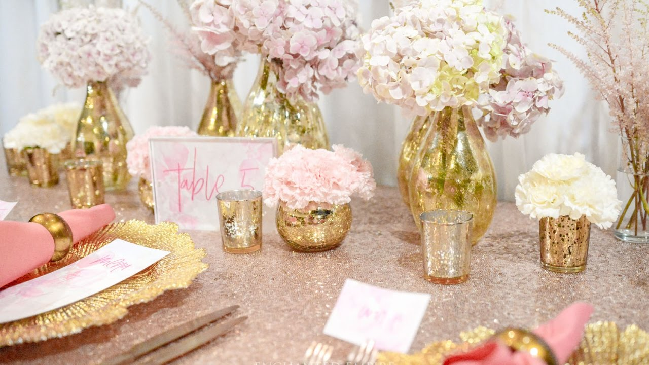Pink And Gold Wedding Choice Image - Wedding Dress