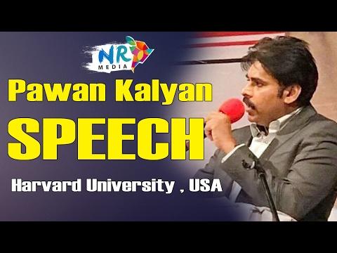 Pawan Kalyan Speech At Harvard University    India Conference 2017    USA Trip