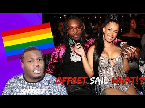 OFFSET UPSETS LGBTQ+ COMMUNITY (CARDI B SHOULD SPEAK UP!?)| Zachary Campbell