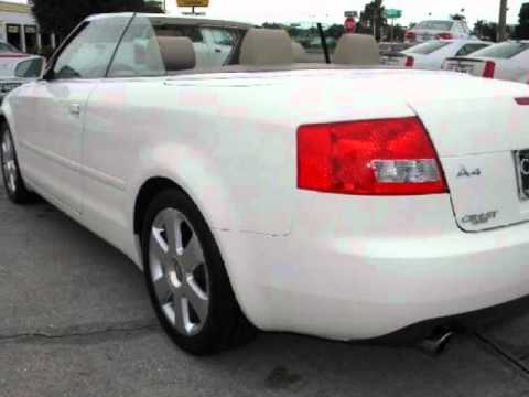 2006 Audi A4 2dr Cabriolet 18t Cvt Youtube