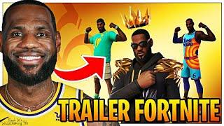 LeBron James Arrive Sur Fortnite / Trailer Officiel !