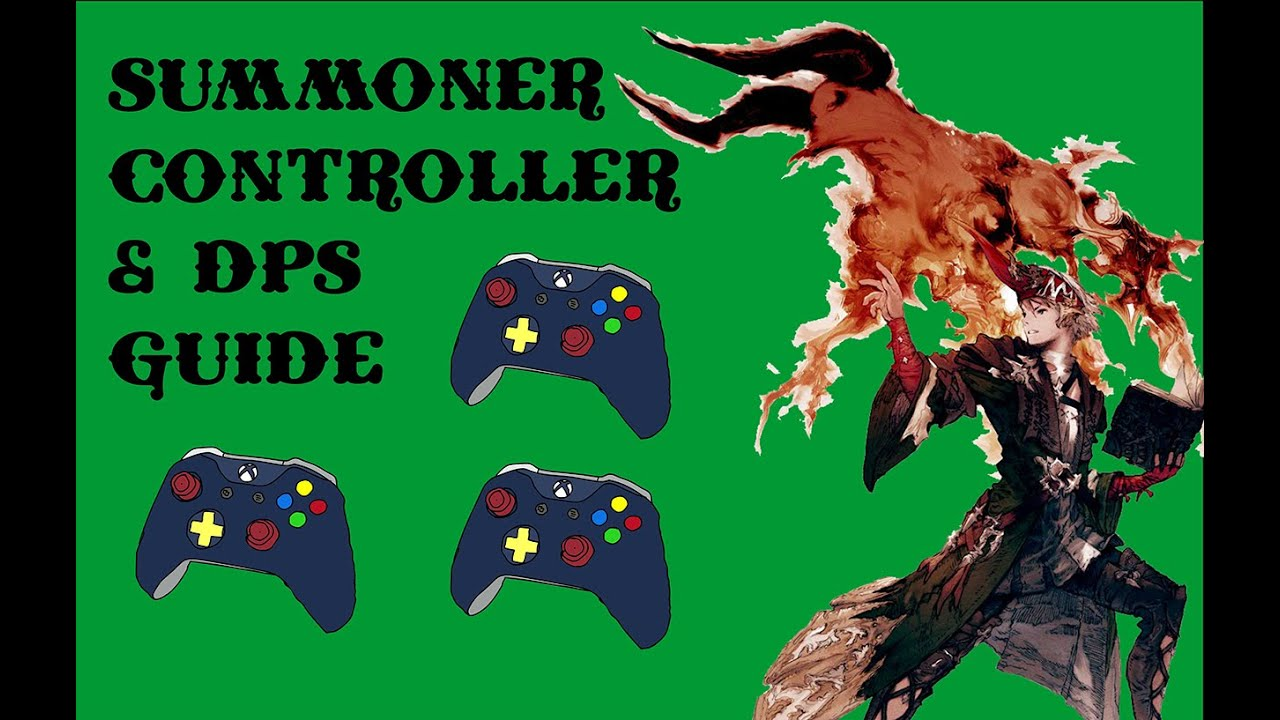 FINAL FANTASY XIV Summoner Controller DPS Guide Free Download Video