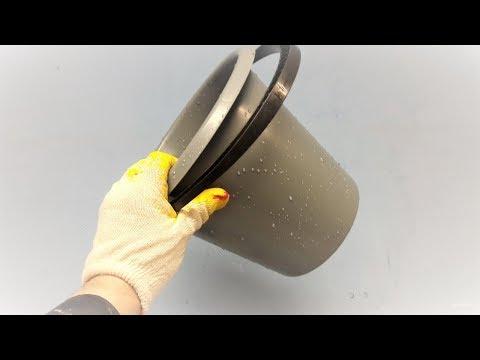 Что можно сделать из обычного пластикового ведра! Комфорт в работе обеспечен!