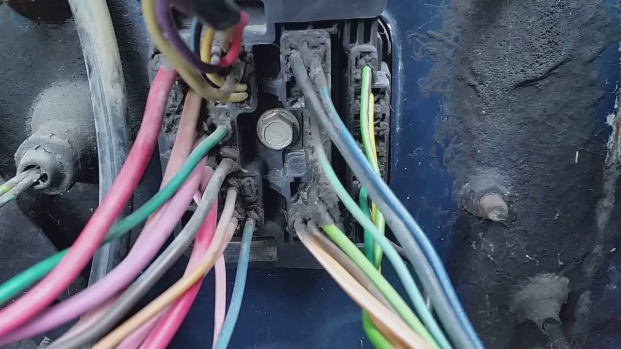 1984 C10 Project Ls Swap Part 7 1 Bulkhead Wiring 1983 El Camino Fuse Box Youtube