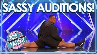 Sassiest Auditions From Got Talent, X Factor & Idols WORLDWIDE! | Top Talent thumbnail