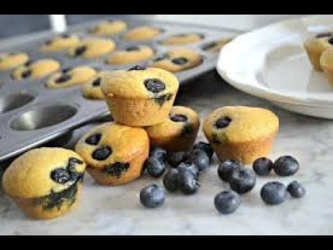Easy Blueberry Keto Muffins