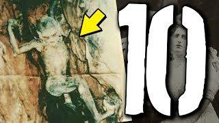 10 wyjątkowo PRZERAŻAJĄCYCH FOTOGRAFII [TYDZIEŃ STRACHU]