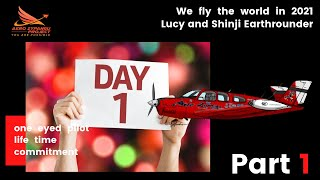 Shinji & Lucy Earthrounder Day 1  - Part 1