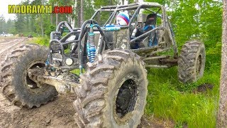 4 WHEEL STEER REAR ENGINE BEAST AT MOUNTAIN HAVOC 2018