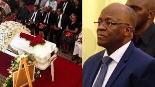 Maneno ya Rais Magufuli Msibani kwa Mercy Anna Mengi