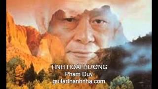 TÌNH HOÀI HƯƠNG - Guitar Solo
