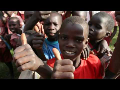 Abaana-Team Aughnacloy Uganda trip 2016