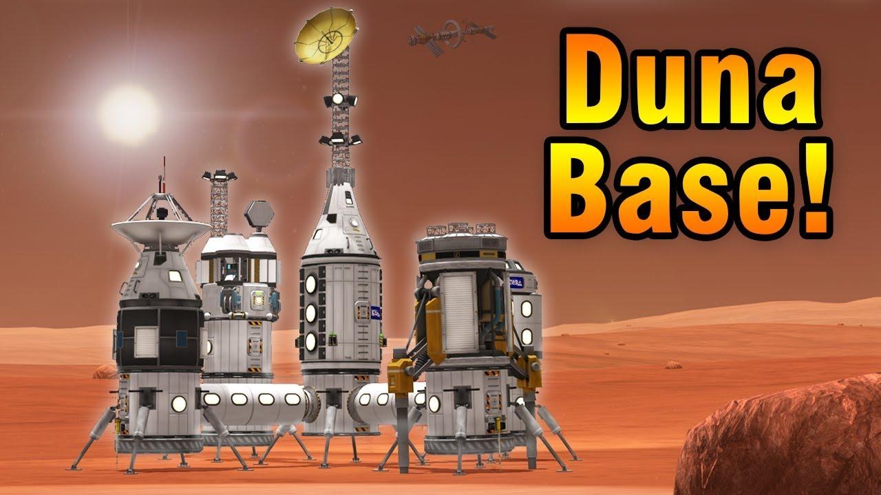Download KSP: Building a DUNA Base!