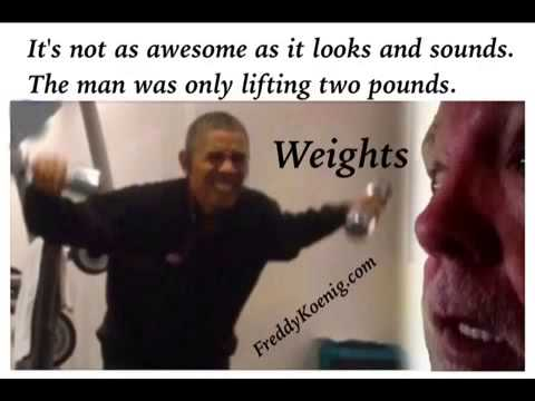 President Obama Lifting Weights Youtube