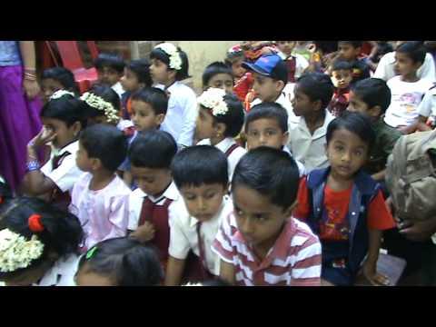 A Local Nursery School In Kerala Tiny Tots Singing The Rhyme Found Peanut