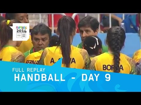 Handball - Bronze Medal Matches Women's & Men's | Full Replay | Nanjing 2014 Youth Olympic Games