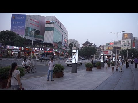 [Walking tour 漫步遊] MTR station to Dongmen Shenzhen China 深圳 地鐵站到東門