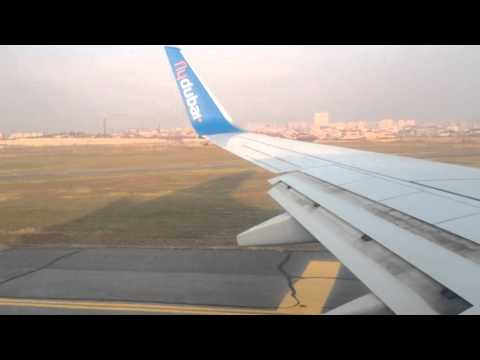 Take Off From Yerevan International Airport 11-12-2015,  B737-800