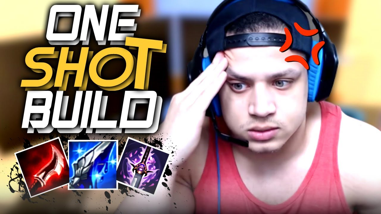Tyler1 One Shot Build Chinese Draven Build Best Moments Tyler S Draven Youtube