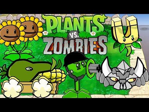 Scribblenauts Unlimited Plants vs Zombies UPGRADE PLANTS 294
