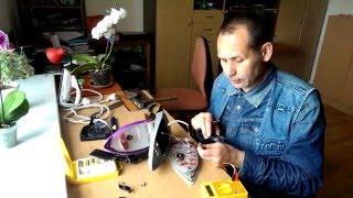 Разборка и ремонт утюга Витек VT-1229, VT-1207, VT-12125 ч2