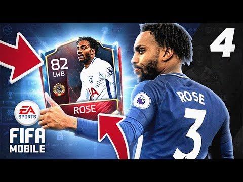 TOP 250 DANNY ROSE! - FIFA Mobile RTG #04
