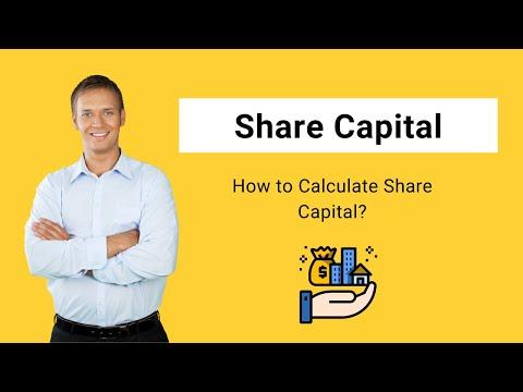 Share Capital (Definition) | Formula | How to Calculate Share Capital?