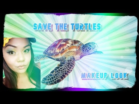 Save the Turtles Makeup Look while Lit - Bretman Rock Inspired thumbnail