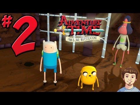 Adventure Time: Finn & Jake Investigations Walkthrough - PART 2 - Abracadaniel Freed From Jail!