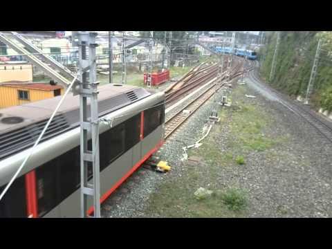 Metro Bilbao y EuskoTren. Cruce.
