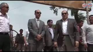 محافظ سوهاج يشرف علي تجميل مدينة ناصر قبيل وصول جلال السعيد وزير النقل
