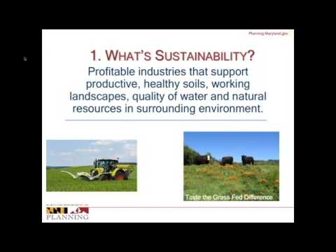 Planning for Profitable Agriculture and Sustainable Food Systems