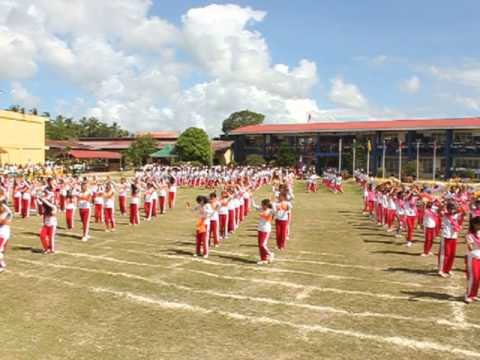 LoocNHS - Looc, Romblon's Palaro 2013 : UNIT IV Ground Demo