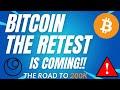 THE RETEST IS COMING!! - BTC PRICE PREDICTION - SHOULD I BUY BTC - BITCOIN FORECAST 200K BTC