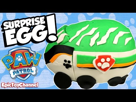 GIANT SURPRISE EGG Paw Patrol Surprise Egg, New Paw Patrol Toys & Disney Cars Toy + Blaze Surprise