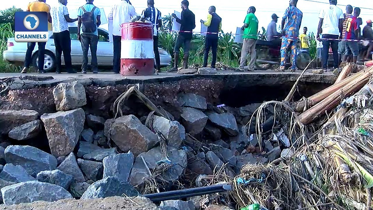 Download Ado Ekiti Residents Lament State Of Ureje Bridge