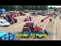 Morgen Trecker Treck SCHÜLP bei Rendsburg German Tractor Pulling
