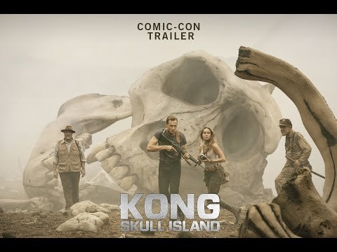 KONG : SKULL ISLAND Comic-Con Trailer