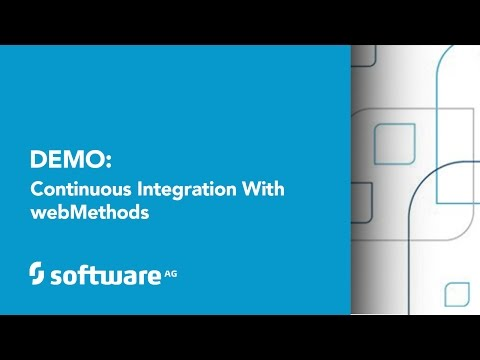 Demo: Continuous Integration with webMethods