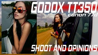 GODOX TT350 real world test shoot on Canon 77d and 200d