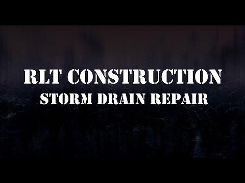 Storm Drain Repair - Raleigh, NC