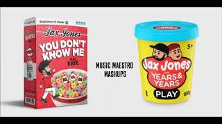 Play/You Don't Know Me [Mashup] - Jax Jones, Years & Years, RAYE Video