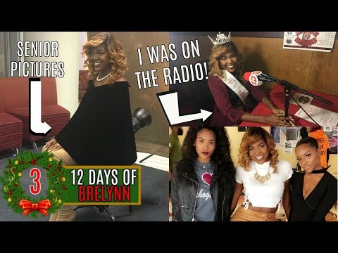 Taking My Senior Pictures + I was on the RADIO | VLOGMAS