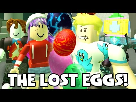 EASTER EGG HUNT IN ROBLOX | RADIOJH GAMES & GAMER CHAD