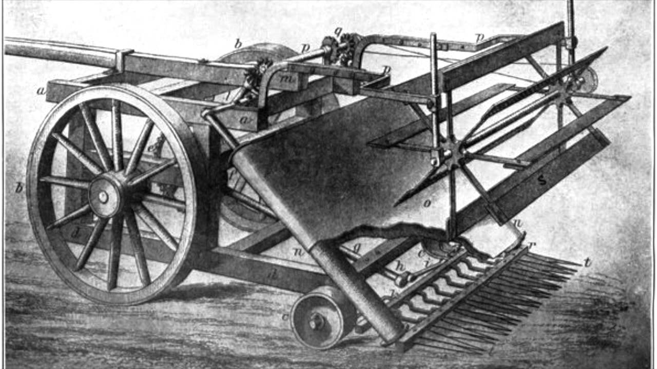 impact of the mechanical reaper Mechanical reaper was an implement that was used for cutting and gathering a crop this machine reduced the amount of time and labor needed to harvest by more than one-half.