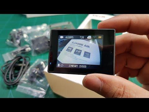 SJCAM SJ4000 AIR 4K - Action Camera for RC