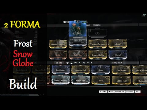Warframe Frost Avalanche Build