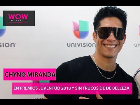 Chyno Miranda | Premios Juventud | Sin Trucos de Belleza | Wow La Revista