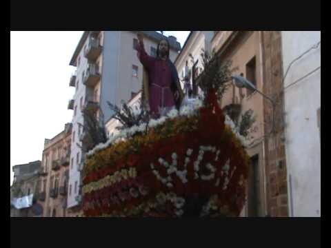 La Processione di Gesù Nazareno 2010 a Caltanissetta 1°parte